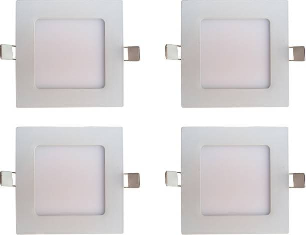BENE LED 12w Square Slim Recessed Panel, Color of LED White Recessed Ceiling Lamp