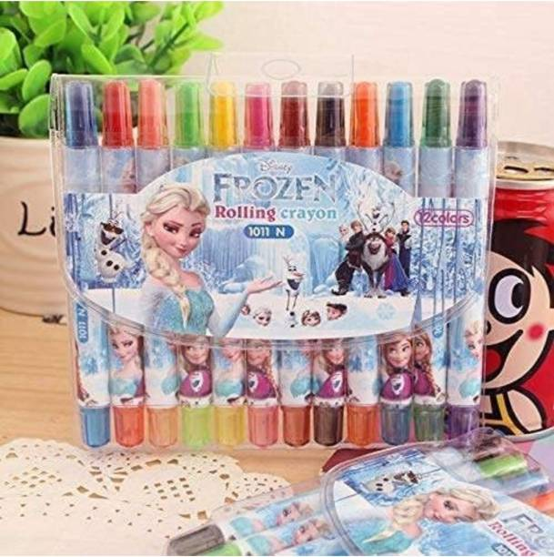 JTC Frozen rolling crayons pack of 12