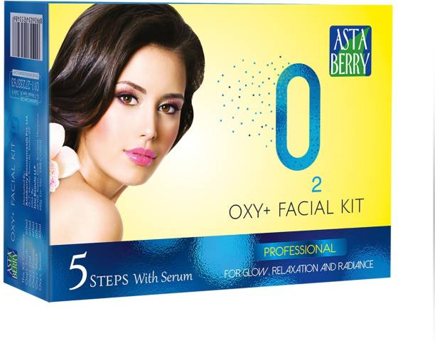 ASTABERRY Oxy Facial Kit 5 Steps 270 gm