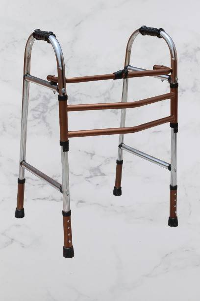 KDS SURGICAL Double Bar Copper and Steel Walker For Patient Table Legs