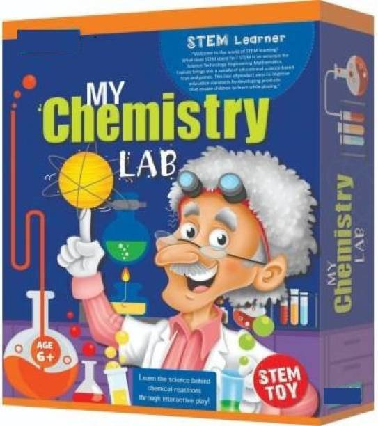 KREDZSTAY STEM Learner | My Chemistry Lab (Learning & Educational DIY Activity Toy Kit, for Ages 6+ of Boys and Girls) (My Chemistry)