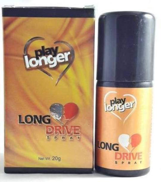 LONG DRIVE PLAY LONGER SPRAY IN PACK OF ( 2 X 20GM ) Lubricant