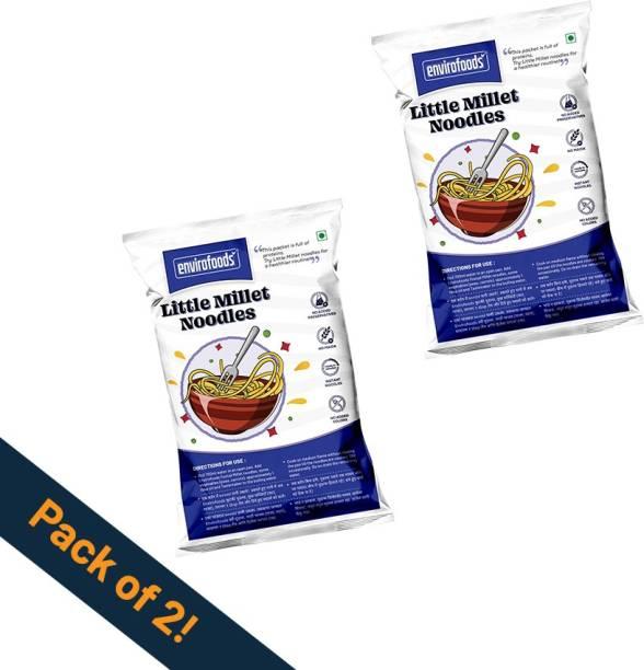 envirofoods Instant Little Millet Noodles Pack of 2 Instant Noodles Vegetarian