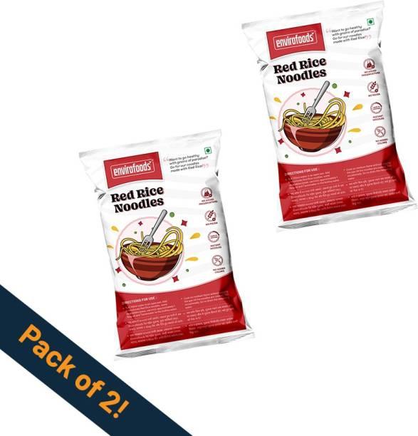 envirofoods Instant Red Rice Noodles Pack of 2 Instant Noodles Vegetarian