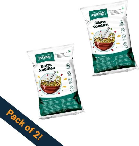 envirofoods Instant Bajra Noodles Pack of 2 Instant Noodles Vegetarian