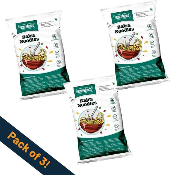 envirofoods Instant Bajra Noodles Pack of 3 Instant Noodles Vegetarian