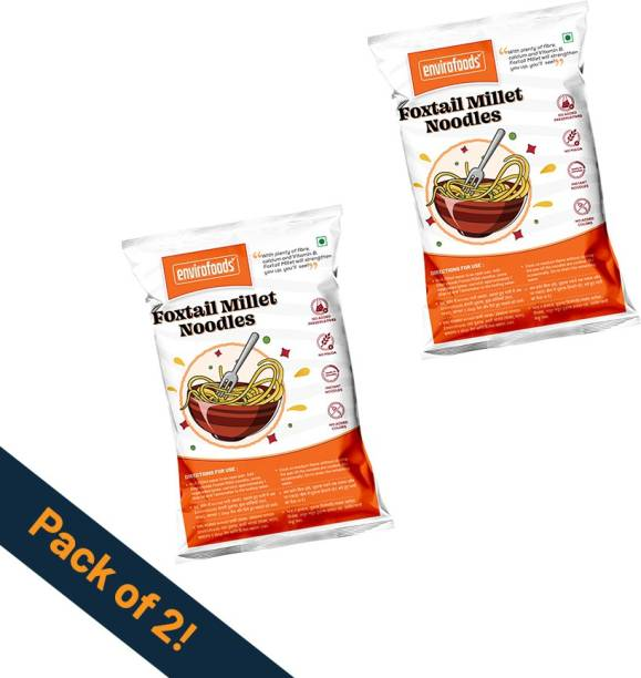 envirofoods Instant Foxtail Millet Noodles Pack of 2 Instant Noodles Vegetarian