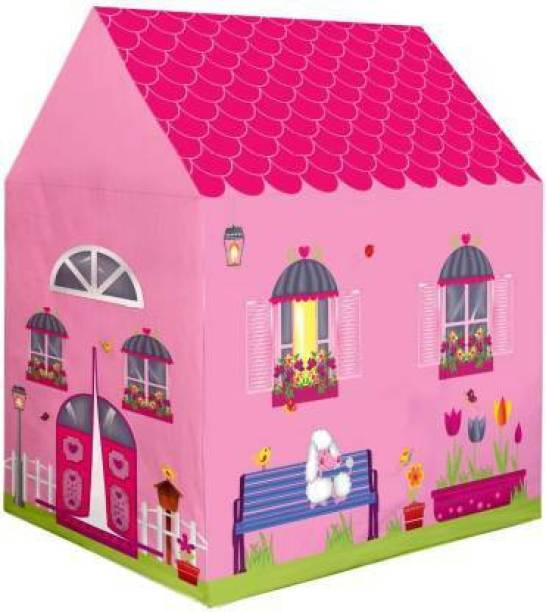 TIGMON Jumbo Size Extremely Light Weight, Water Proof Doll House Kids Play Tent House For Kids Baby Children Girls And Boys, Indoor & Outdoor Toys Tent House (Multicolor)