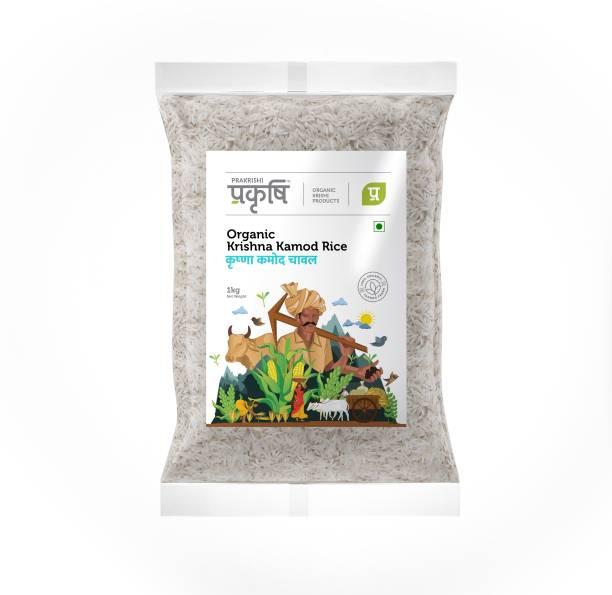prakrishi Organic Krishna Kamod Rice Premium Quality Raw Rice (Full Grain, Raw)