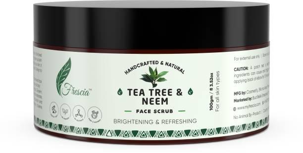 Frescia Tea Tree & Neem Face  Scrub