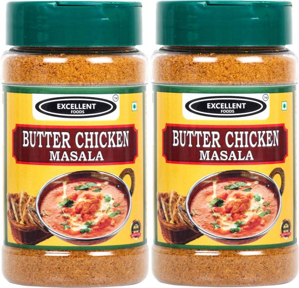 Excellent Foods Butter Chicken Masala - Premium Quality 100 Grams*2 Pack