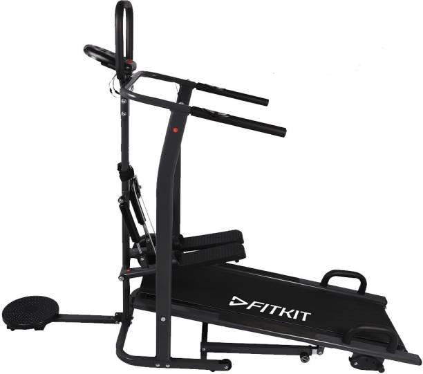 FITKIT FT801 Manual Multifunction with Free Installation Treadmill