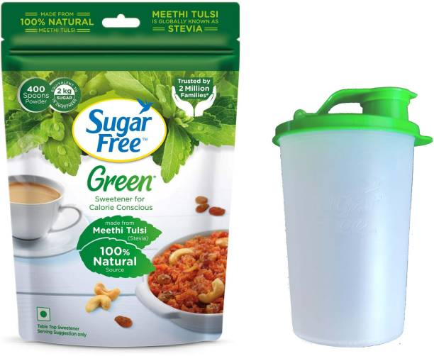 Sugar free Green Made From Stevia with Bottle Sweetener