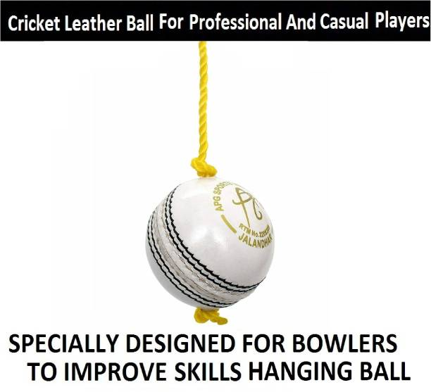 VIBCO High Quality Sports Leather Match Practice Hanging Cricket Ball Cricket Leather Ball