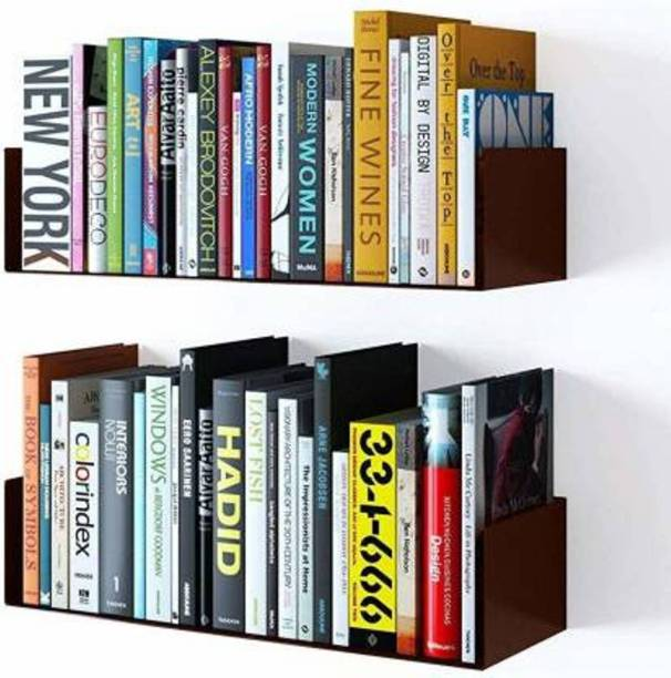 classiconline Engineered Wood Open Book Shelf