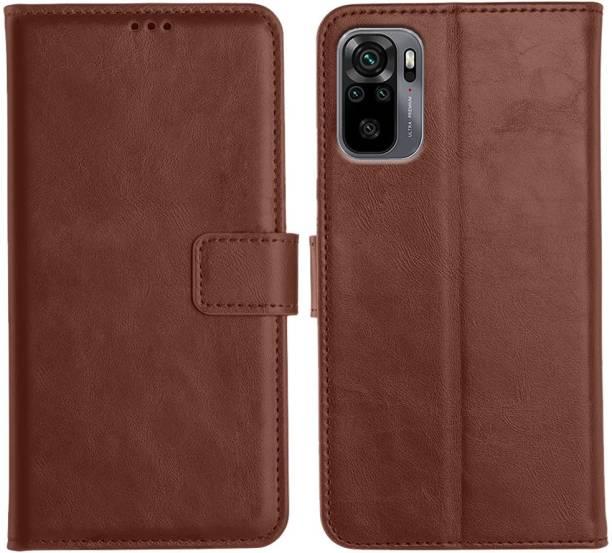 Orosky Flip Cover for Xiaomi Redmi Note 10