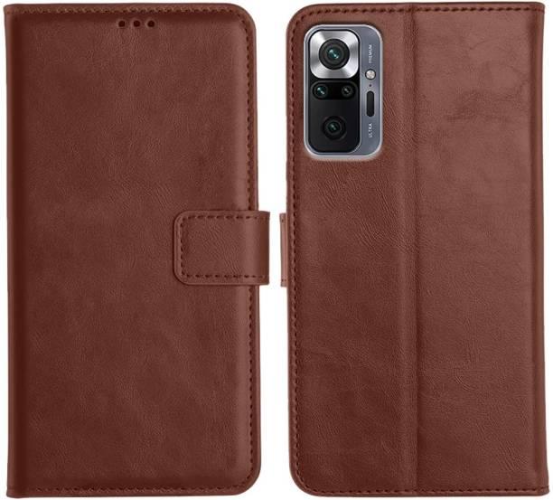 Orosky Flip Cover for Xiaomi Redmi Note 10 Pro