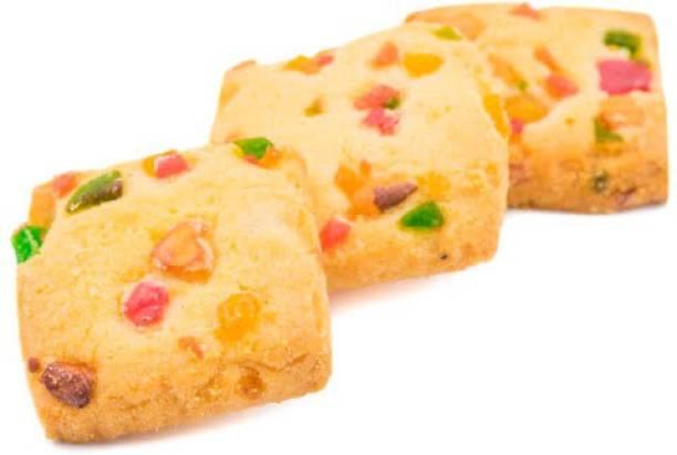 JAINA Organics Tutti Frutti Cookies | Eggless Cookies | Homemade Biscuits Cookies