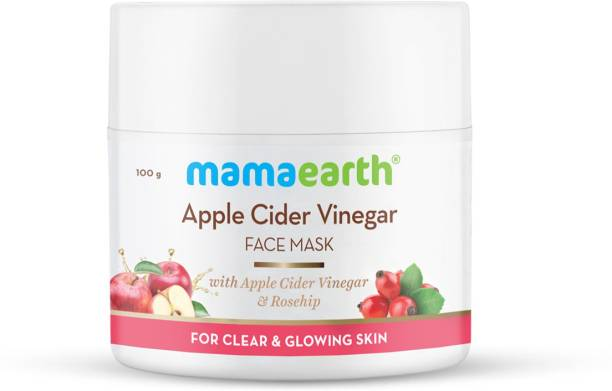 MamaEarth Apple Cider Vinegar Face Mask With Apple Cider Vinegar & Rosehip for Clear and Glowing Skin