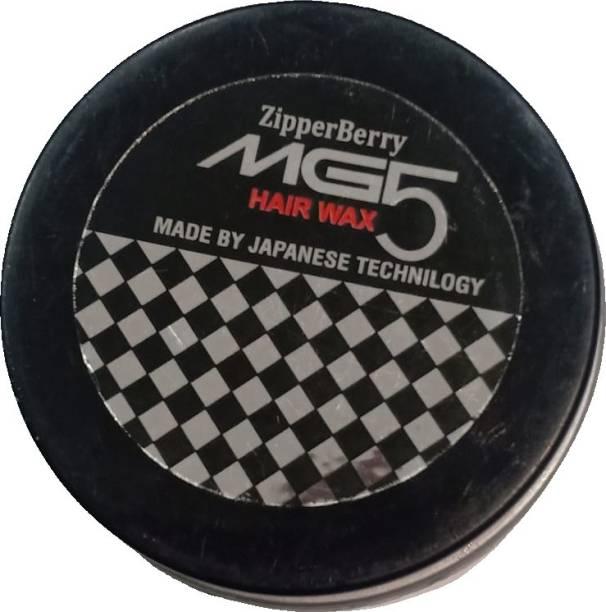 ZipperBerry MG5 Hair Wax For Hair Styling Japanese Technology (100 GM) Hair Gel
