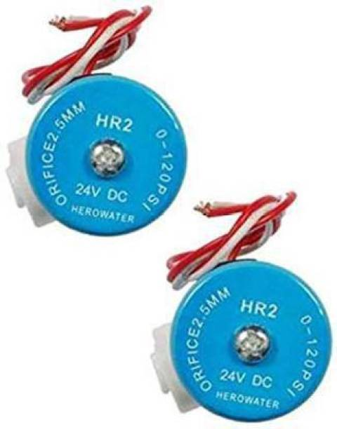 reeva water tech Solenoid Valve 24V SV for RO Water Filters -Pack of 2 Automatic Control Valves Automatic Control Valves