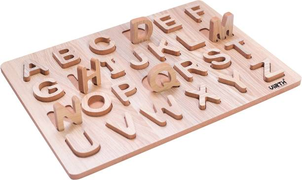 """Virth English Capital Alphabet Letters Learning Educational Puzzle Toy 