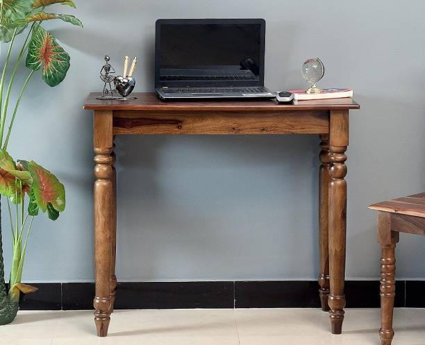 FURNISELAN Solid Wood Study Table
