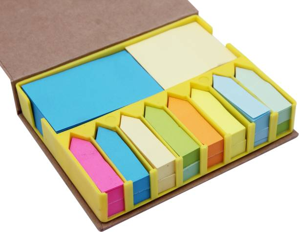 DALUCI Sticky Notes 200 Sheets Regular, 8 Colors