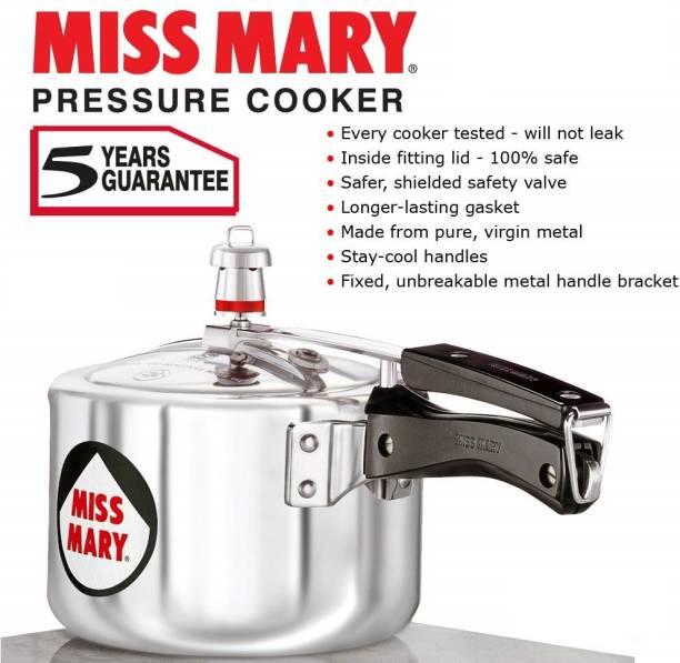 HAWKINS Miss Mary Pressure Cooker 2 Litre 2 L Pressure Cooker