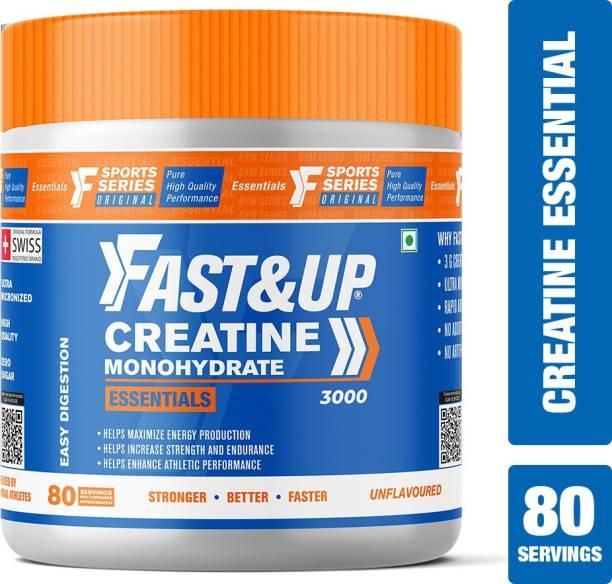 Fast&Up Creatine Monohydrate Essentials-80 Serving Creatine