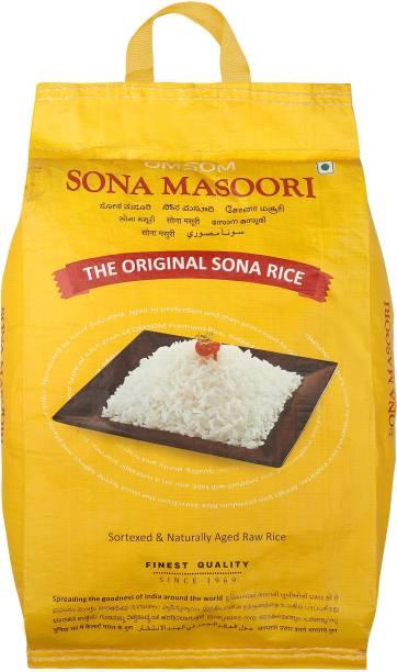 OMSOM Sona Masoori Sona Masoori Rice (Medium Grain, Raw)