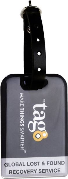 Tag8 Airport tracer code enabled bag security tag Luggage Tag