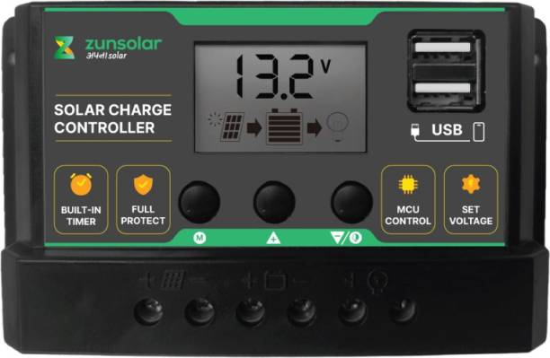 ZunSolar 20 Ampere 12/24 Volts (ZS20) PWM Solar Charge Controller