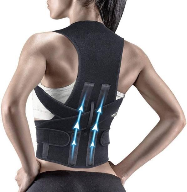 AASHI CARE Posture Corrector Shoulder Back Support Belt Upper Back Pain Back & Abdomen Support
