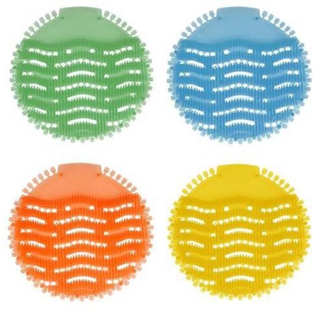 VIAAMA URINAL SCREEN MAT 4 PCS Lemon Mat Toilet Cleaner