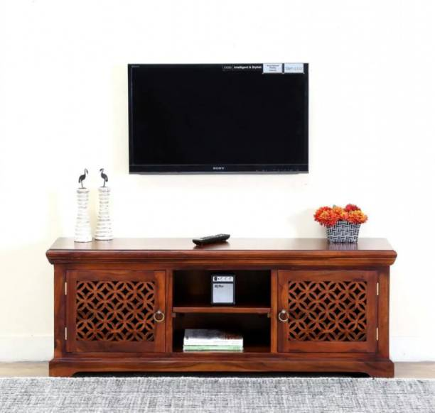 The Wooden Space Solid Wood TV Entertainment Unit