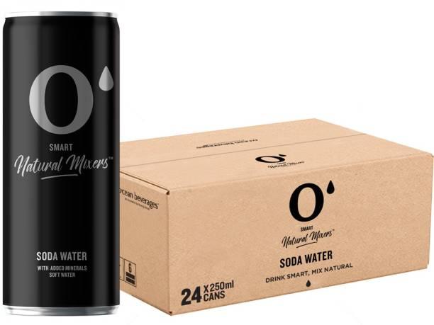 O' Smart Natural Mixer Soda Water Can