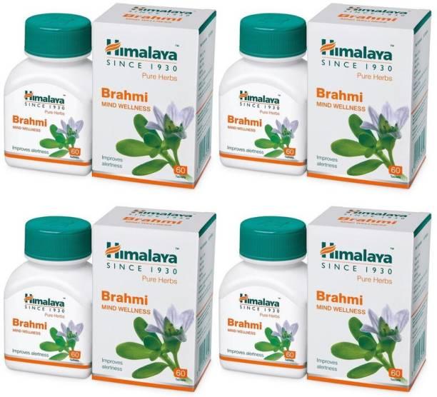 HIMALAYA Brahmi, 60tab (pack of 4)