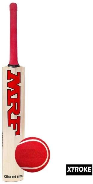 XTROKE Poplar Willow Cricket Bat /bat cover/ tenis ball combo Poplar Willow Cricket  Bat