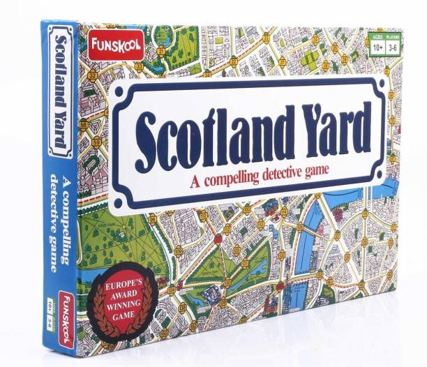 FUNSKOOL Scotland Yard - A Compelling Detective Game Party & Fun Games Board Game