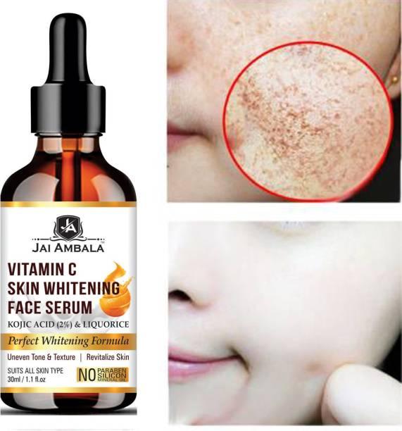 Jai Ambala Vitamin C Face Serum for Glowing Skin, 30 ml | Highly Stable & Effective Skin Whitening Vitamin C Serum For Women & Men
