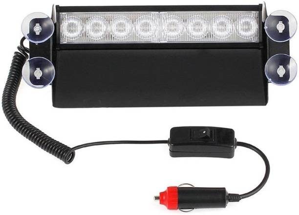 Otoroys Interior Light Waterproof 8 LED Red Blue Police Flashing Light for All Cars Car Fancy Lights
