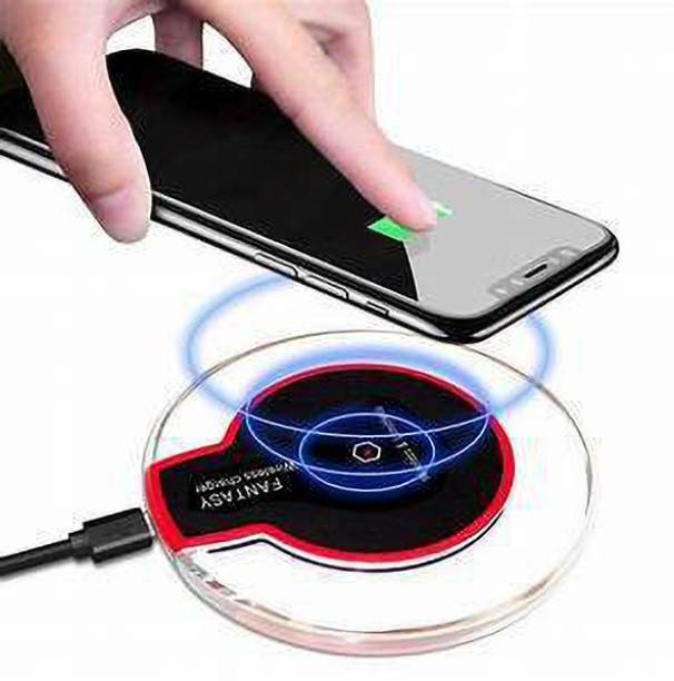 Shakuntalam Creation Standard Ultra-Slim Crystal Wireless Charger Pad for iPhone8/X/8 Plus/XS Note 7 Universal for All Qi-Enabled Devices Charging Pad