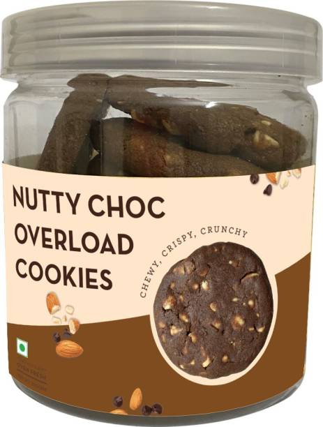Cookieman Nutty Choc Overload Chewy Cookies - 250g pack Cookies