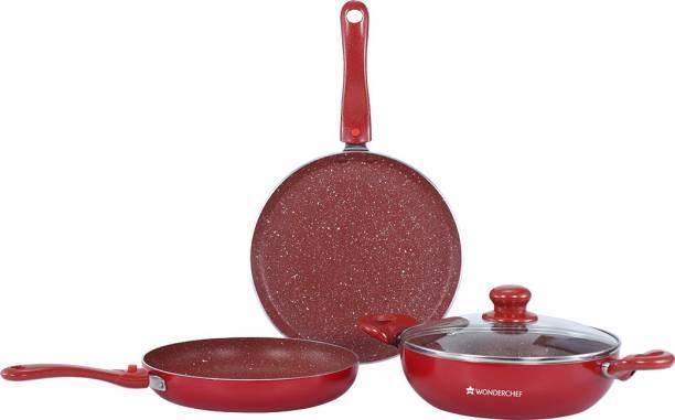 WONDERCHEF Ruby plus IB 2 Induction Bottom Cookware Set
