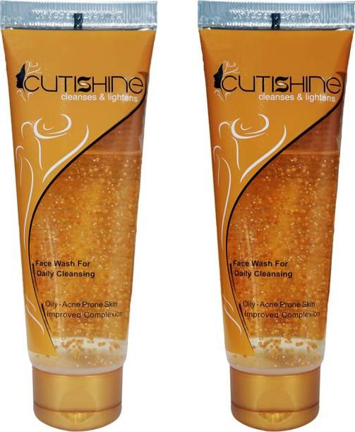 Cutishine Anti Acne (Pack of 2) Face Wash
