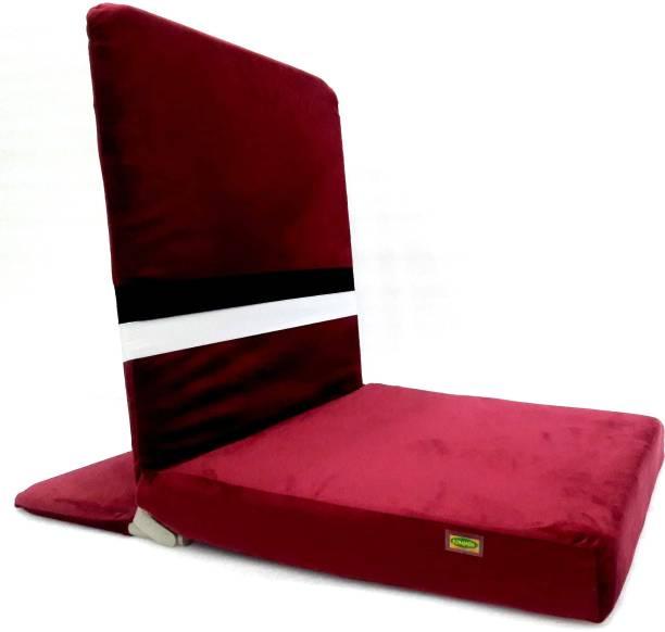 FLORAGREEN FGMDMH-3 Maroon Meditation Chair, Yoga Chair, Floor Chair, Reading Chair