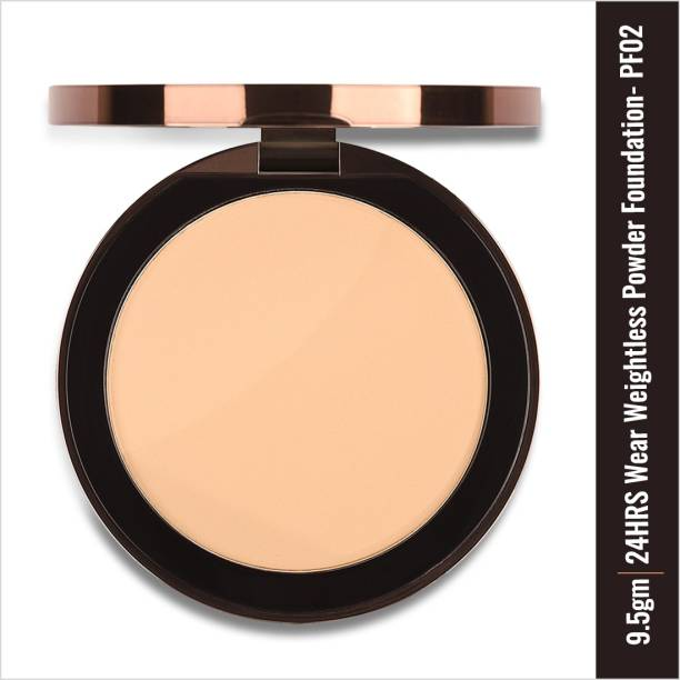 COLORBAR 24Hrs Wear Weightless Powder Foundation, Natural PF002 Foundation