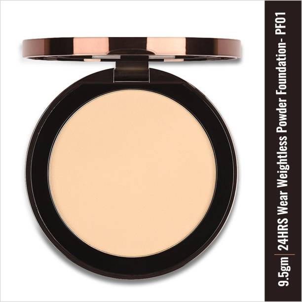 COLORBAR 24Hrs Wear Weightless Powder Foundation, Natural PF001.1 Foundation
