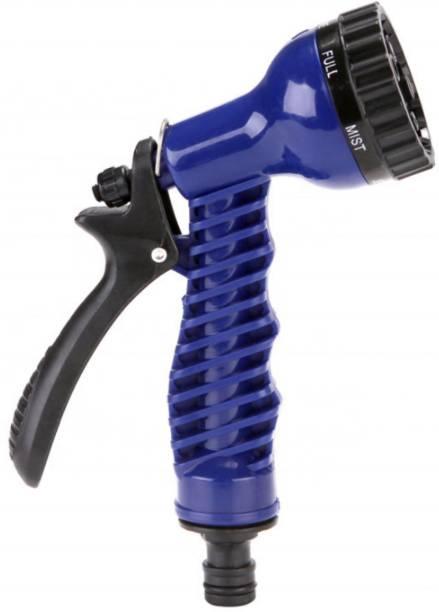 Kubu Hose Water Spray Nozzle/Gun 7 in 1 Pattern Adjustable Multipurpose Watering Nozzle For Irrigation/Floor Cleaning/Pet wash/Plant Watering/Car-Bike wash 0 L Hose-end Sprayer